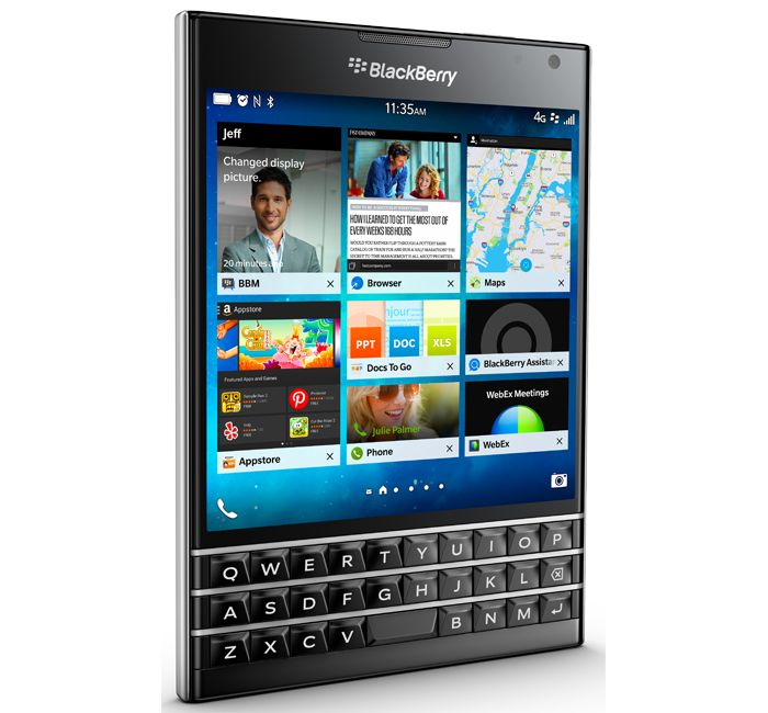 Sell used Blackberry Passport cellular phone for $0
