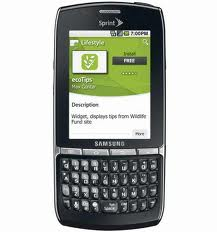 Sell used Samsung Replenish cellular phone for $0